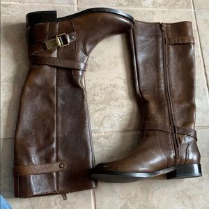 NWOT Brown Riding Boots